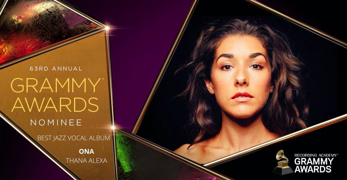 Jazz alum Thana Alexa was nominated for Best Jazz Vocal Album for