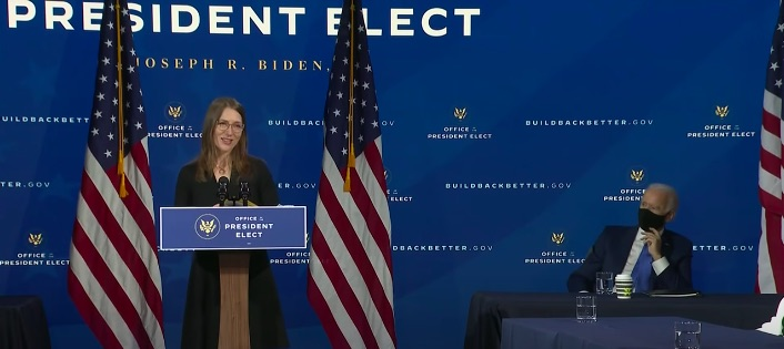 Heather Boushey, MA Economics '96 and PhD Economics '98, was named to President Biden's Council of Economic Advisers