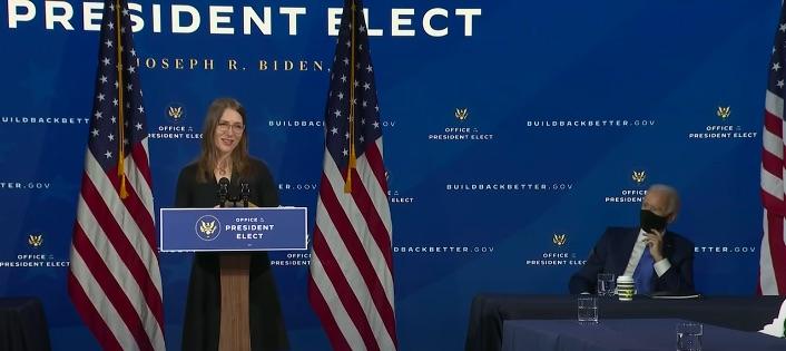 Heather Boushey, MA Economics '96 and PhD Economics '98, was named to President Biden's Council of Economic Advisers