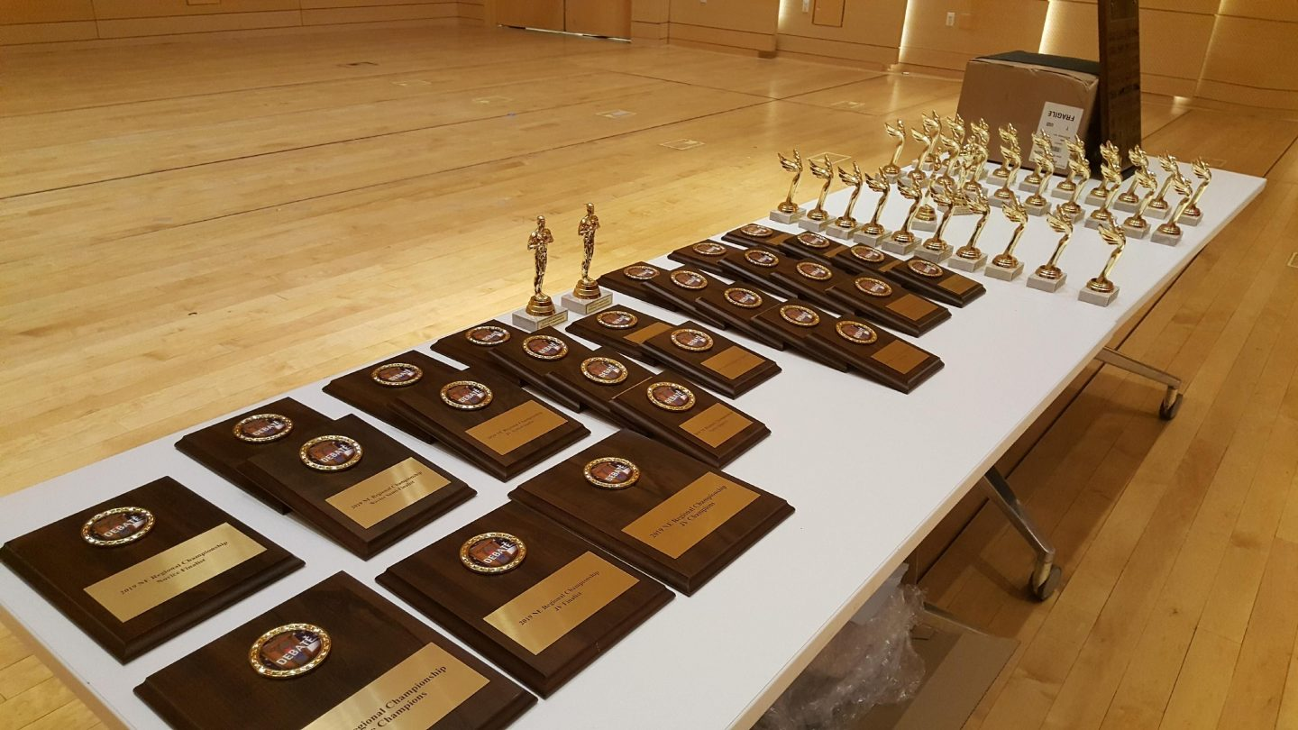 Awards from the 2020 Regional Championship and National Qualifier, hosted on The New School campus
