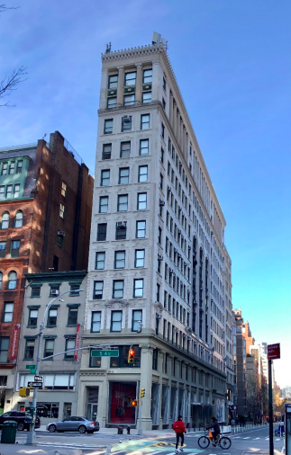 Historically known as the Educational Building, the structure has been home to many organizations that advanced social justice and equality (Photo: New York City Landmarks Preservation Commission)