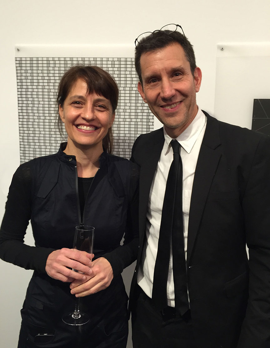 David Leven with his wife and architecture partner Stella Betts