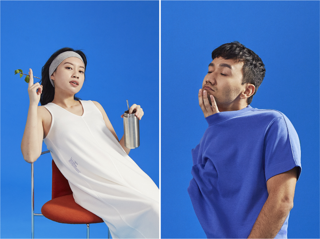 An image from the Livingwear campaign