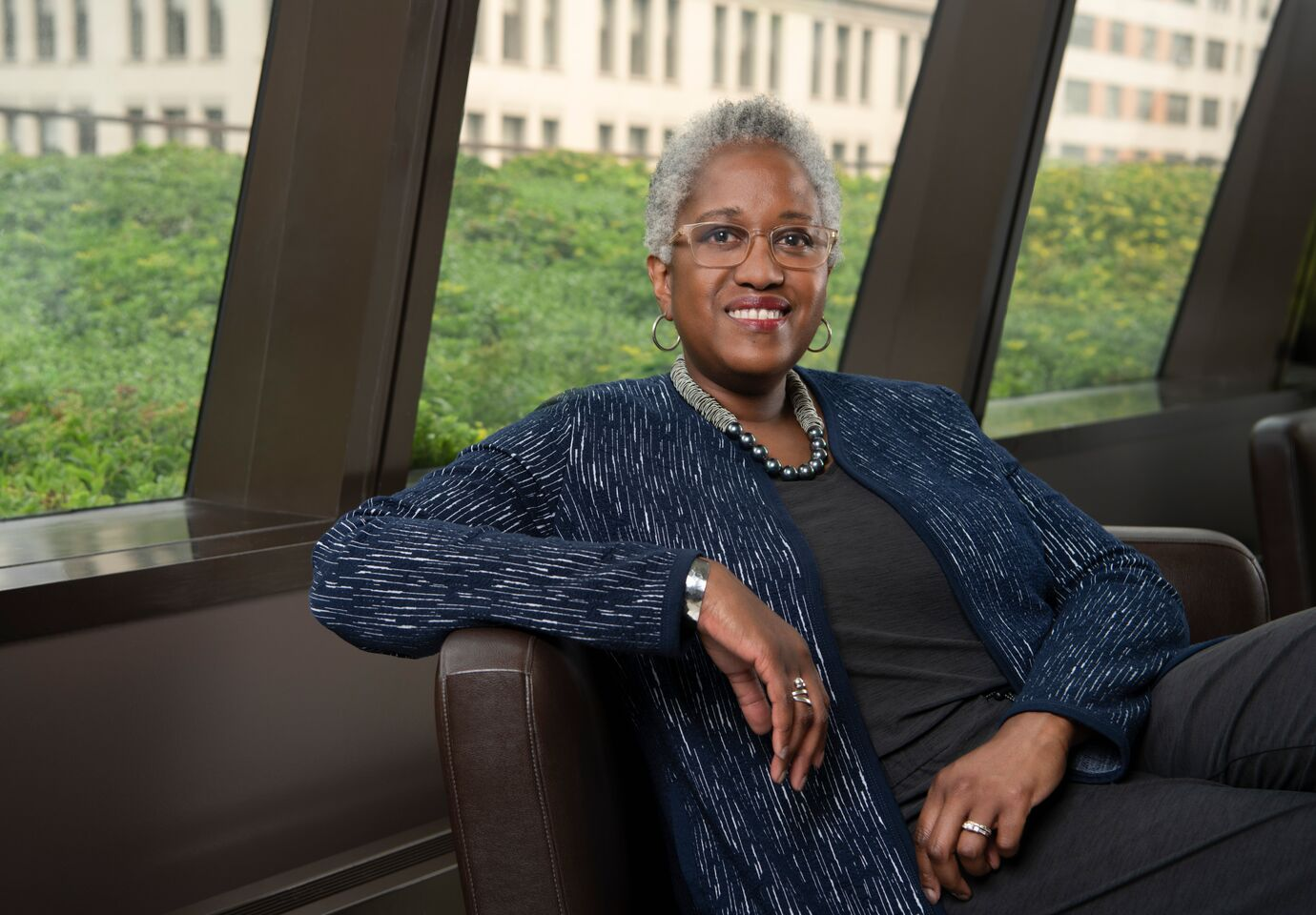 Dr. Renée T. White, the university's new Provost, has always been drawn to institutions with principles grounded in social justice