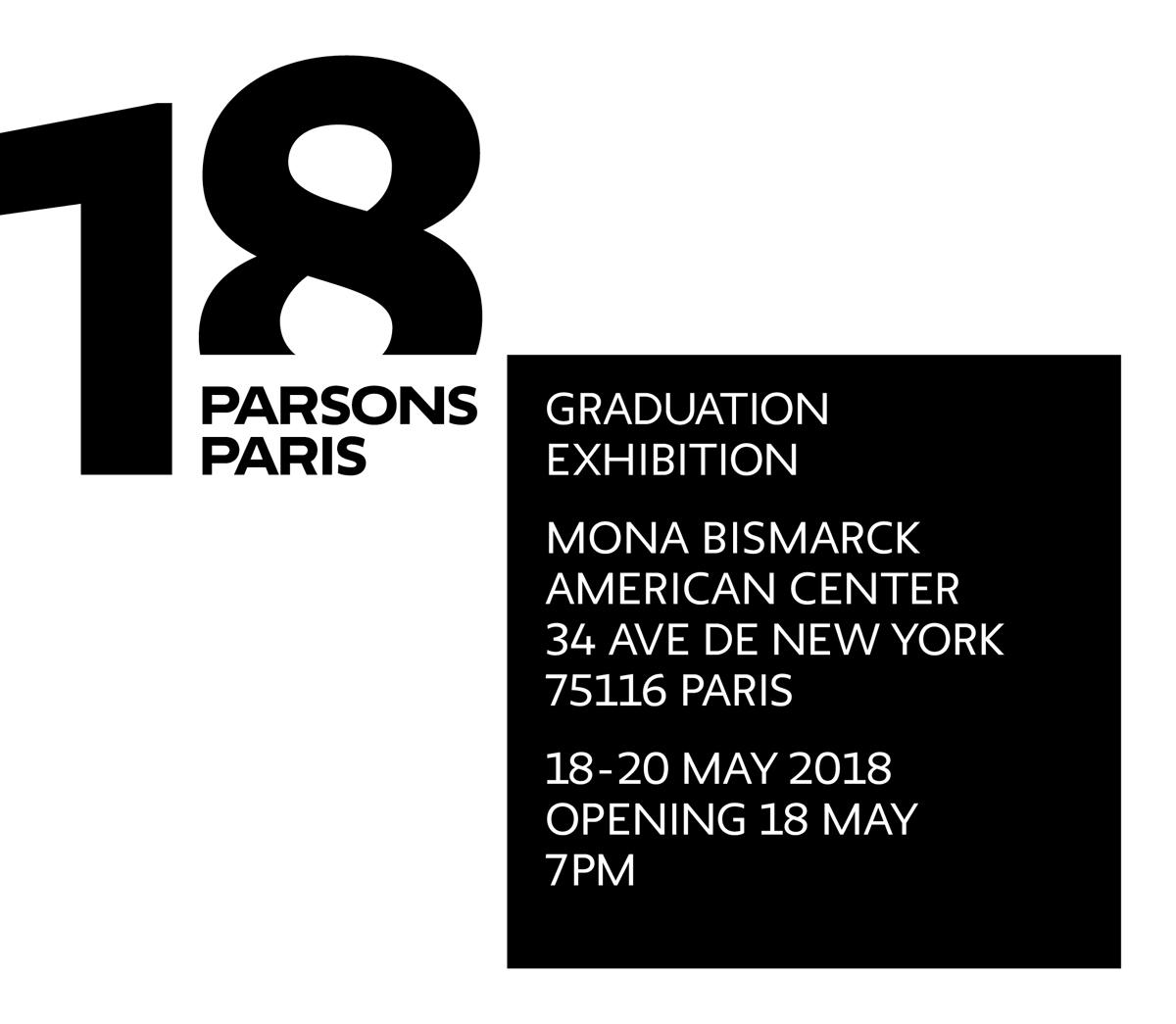 2018 Parsons Paris Festival