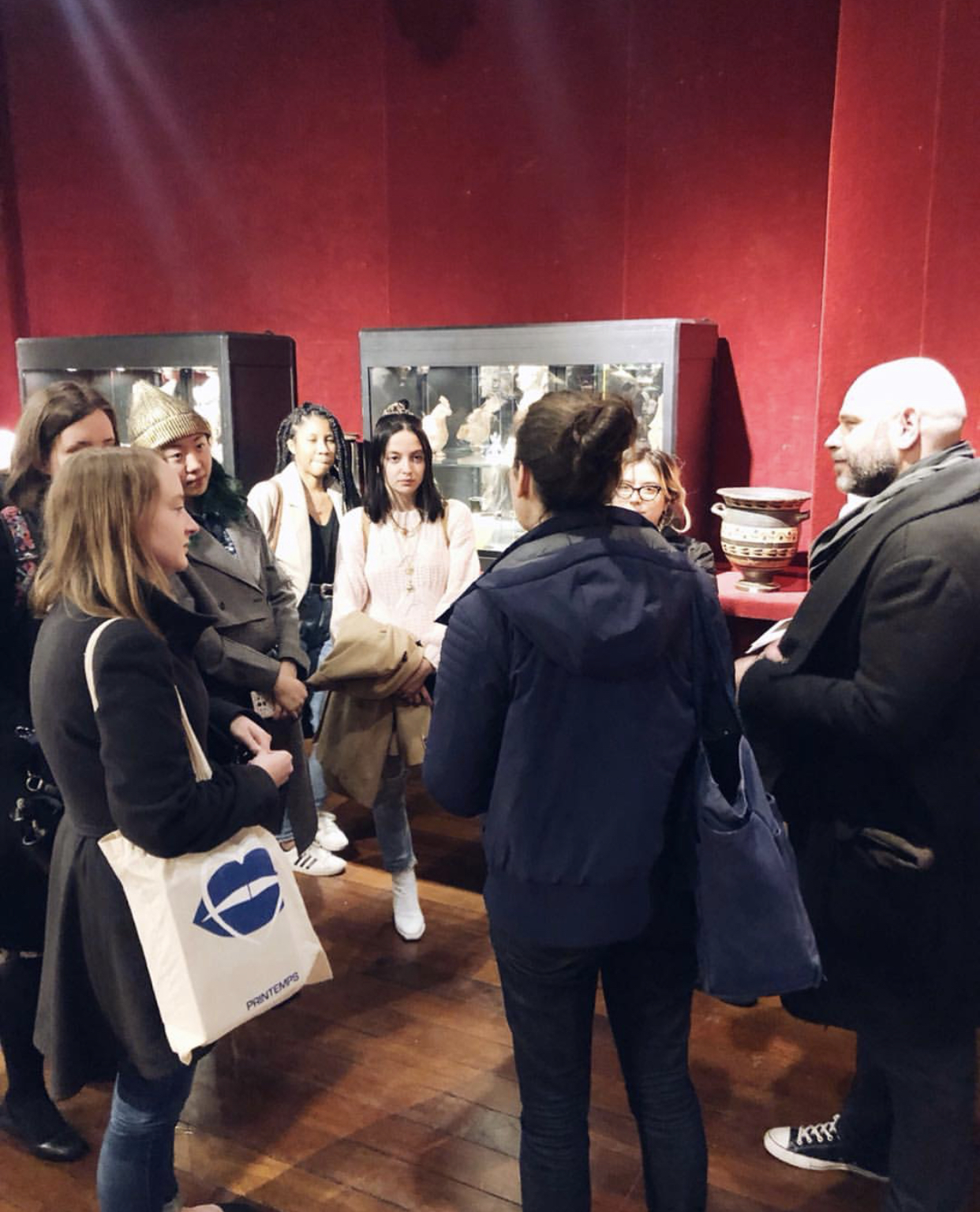Guest Lecture by Alexandra Jaffre and Visit to the Drouot Auction House