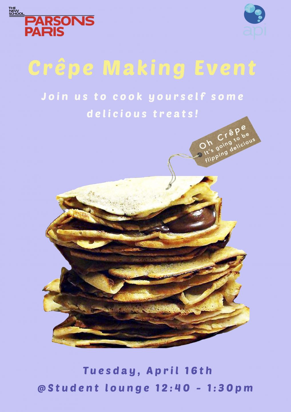 Crêpe Making Event