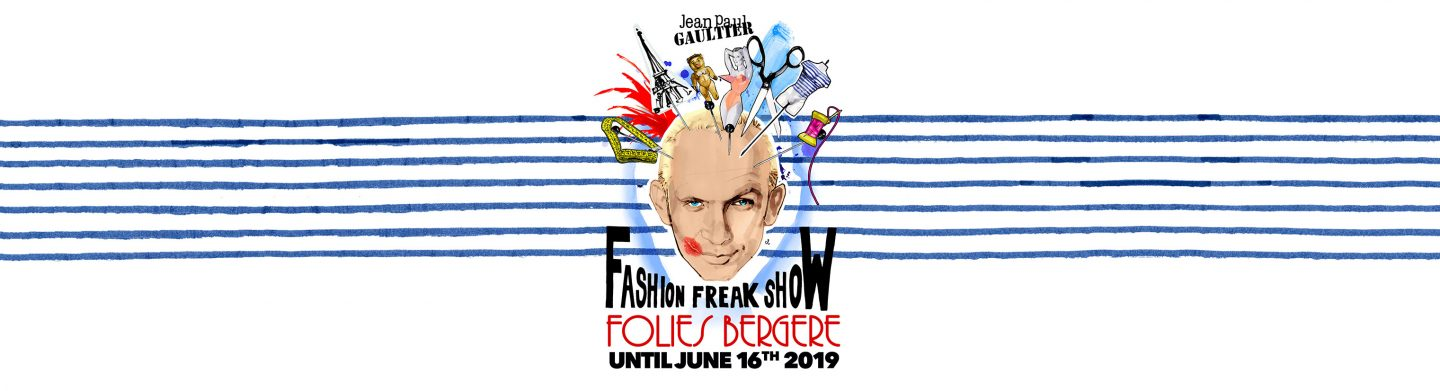 Parsons Paris takes the Folies Bergère and Jean Paul Gaultier's Fashion Freak Show