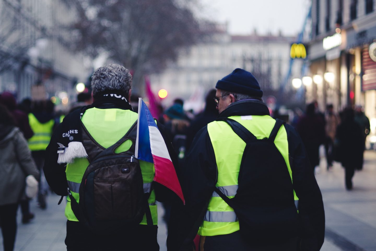 The 411 on the Gilets Jaunes