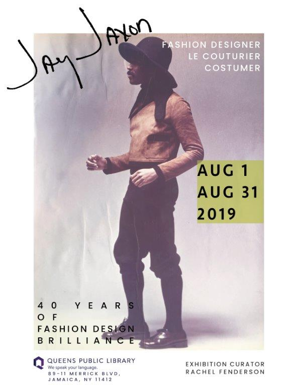 JAY JAXON: Fashion Designer, Le Couturier, Costumer | 40 Years of Fashion Design Brilliance