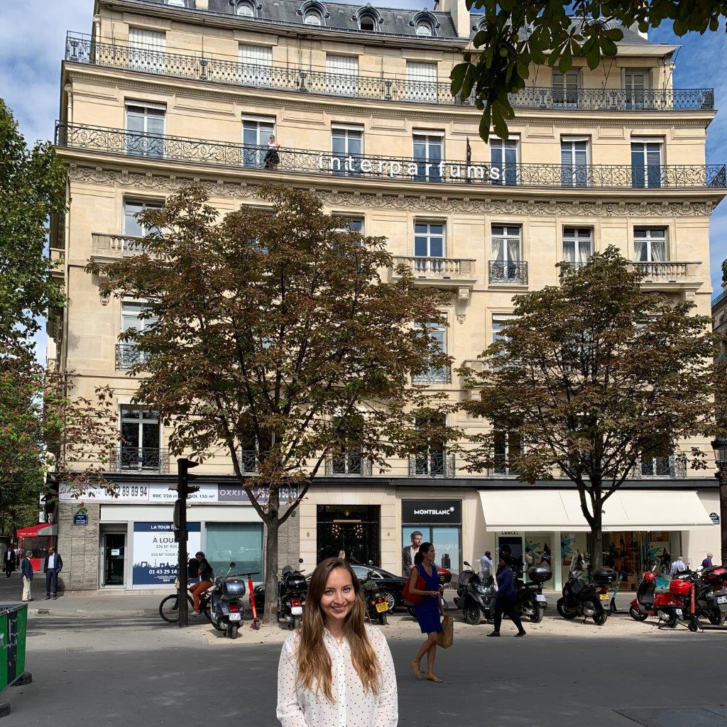 Student Internship Spotlight: Laura Zelmanowicz at Montblanc Parfums