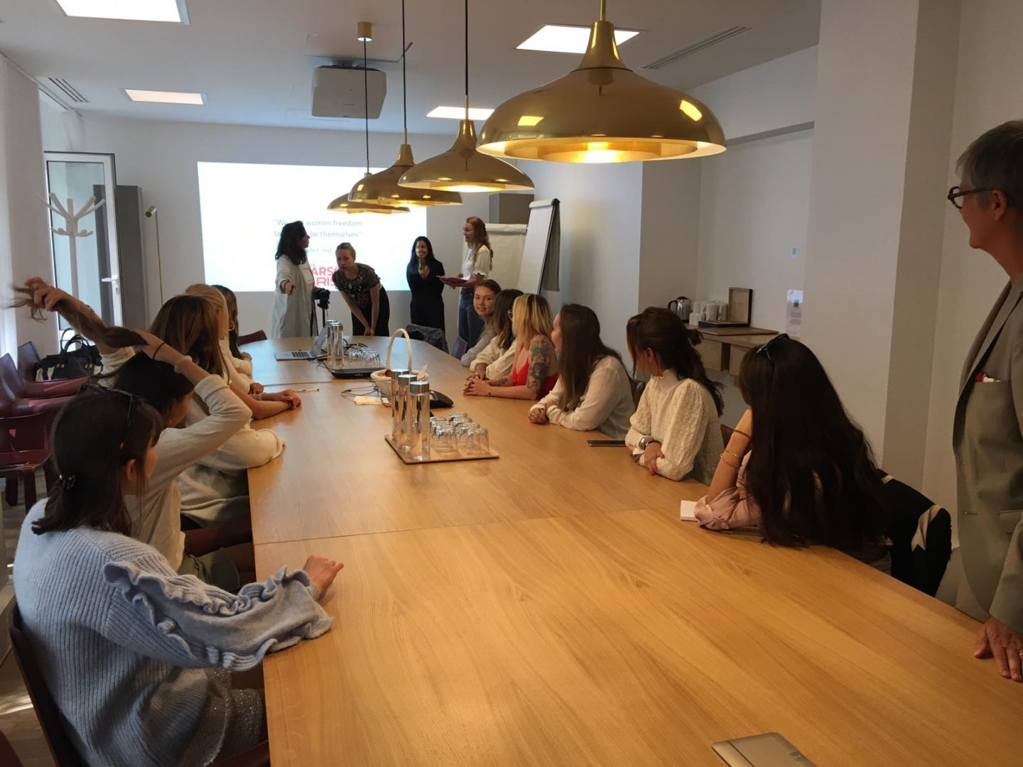Internship Success Workshop at Chloe