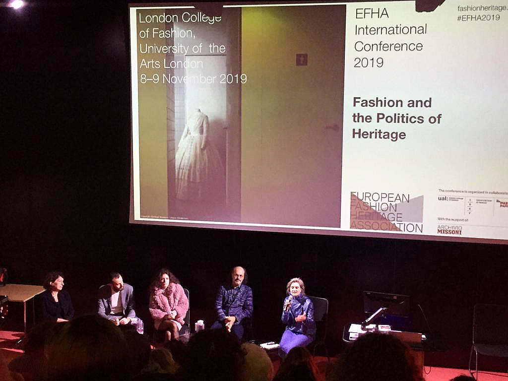 An insight into the EFHA International Conference: 'Fashion and the Politics of Heritage'