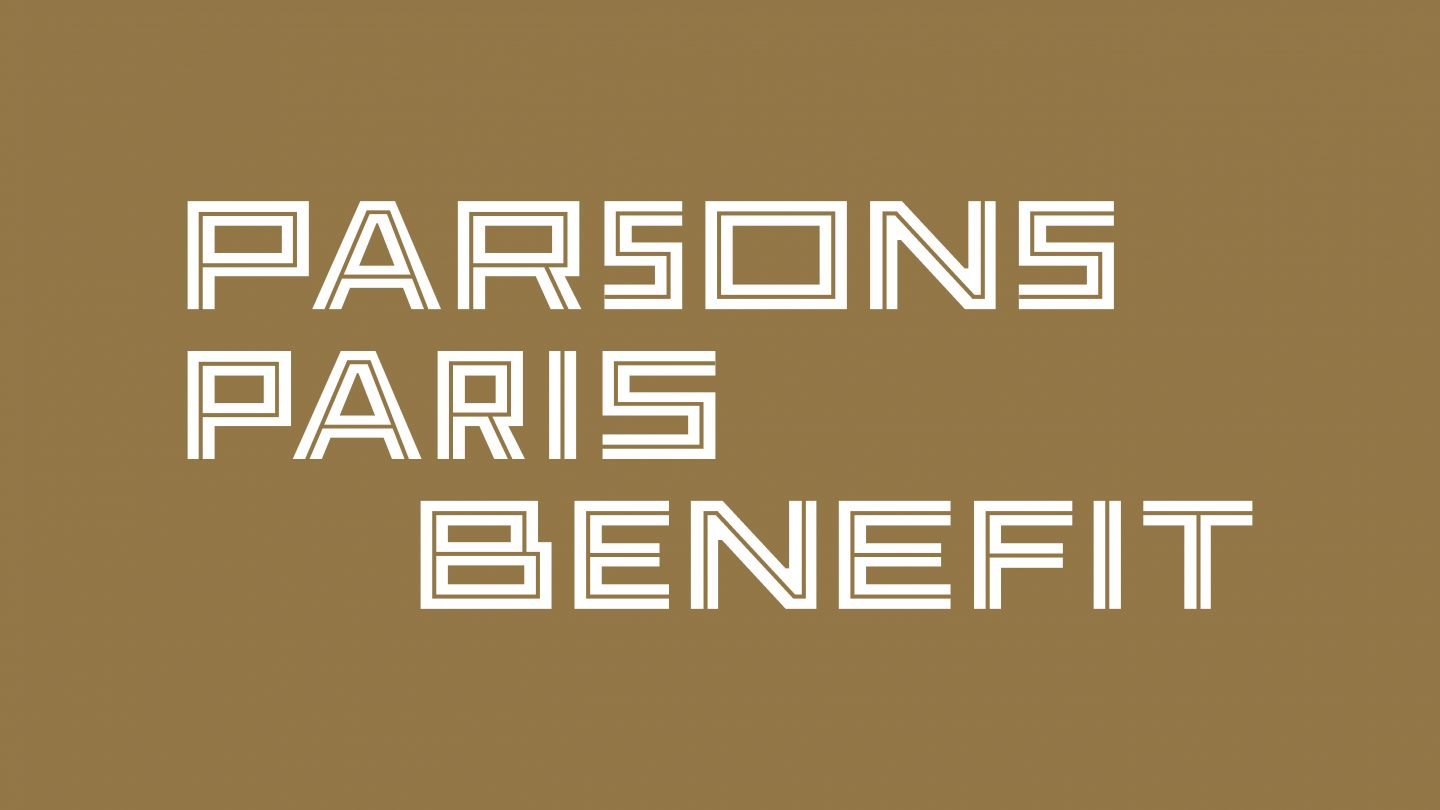 Parsons Paris Benefit : Inaugural fundraising gala in January 2020