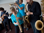 The New School for Jazz and Contemporary Music's Jane Ira Bloom jams with students