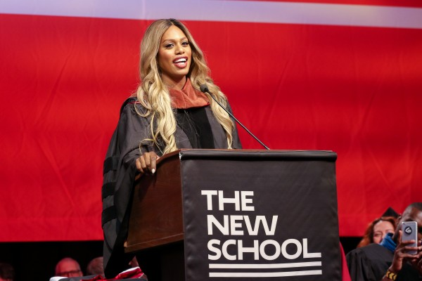 LAVERNE COX, DIANE VON FURSTENBERG, DERAY MCKESSON, ANITA SARKEESIAN, DAVID MILIBAND, AND MERCEDES DORETTI INSPIRE WITH SHORT, IMPACTFUL SPEECHES AT THE NEW SCHOOL'S COMMENCEMENT
