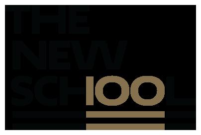 The New School Centennial logo