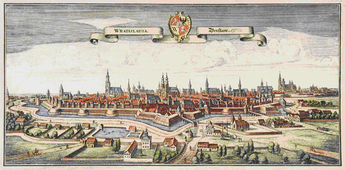 Wroclaw (Breslau) in 17th Century