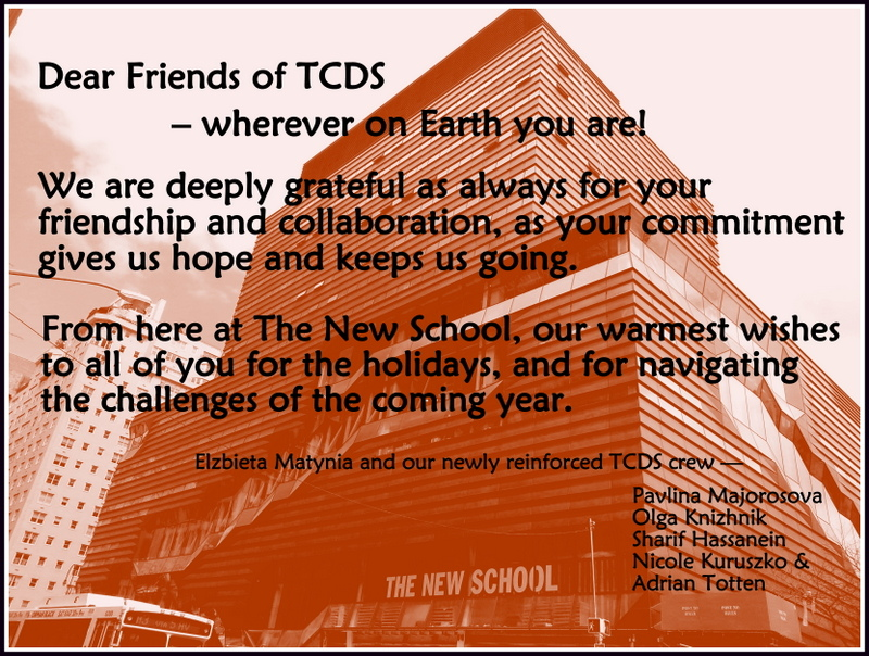 2013 TCDS Holiday Wishes