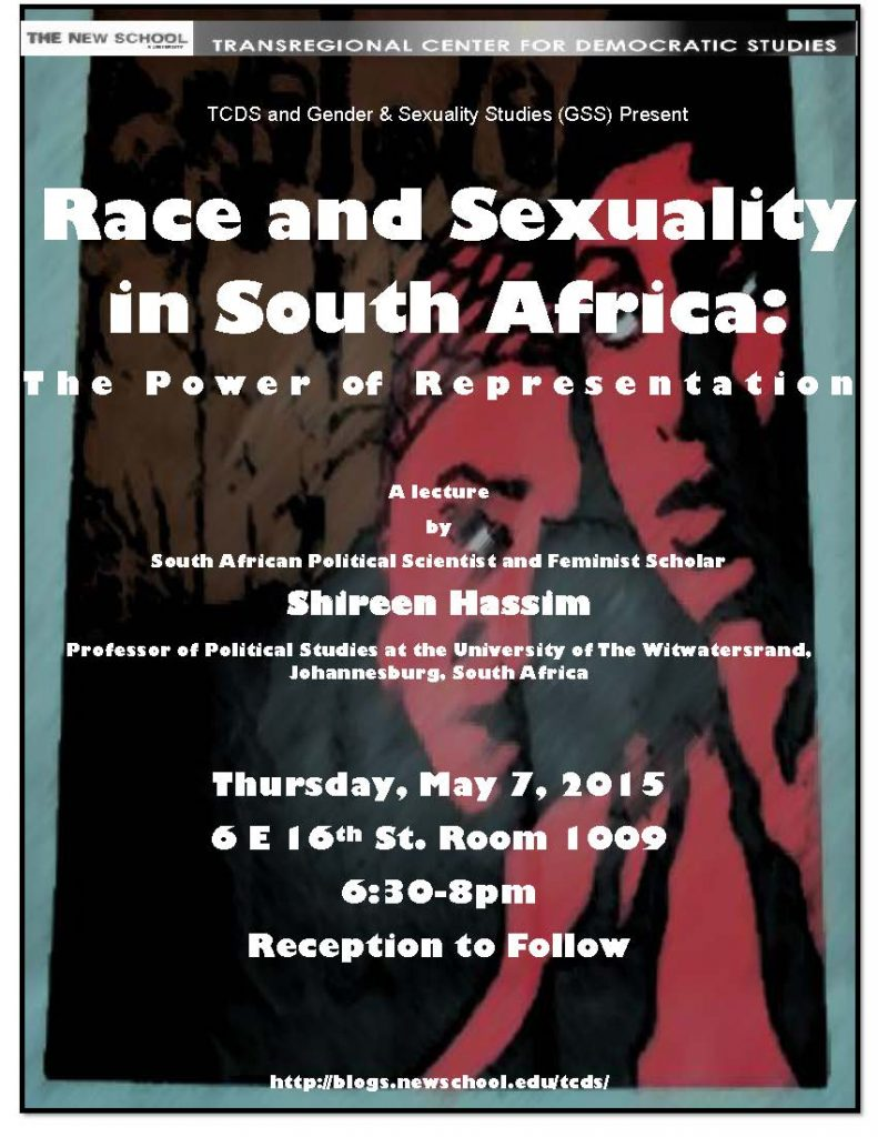 Race&SexualityInSouthAfrica