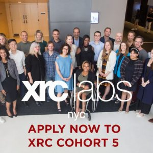 XRC labs Demo Day event held at Parsons School of Design in Manhattan on Friday, September 15, 2017.