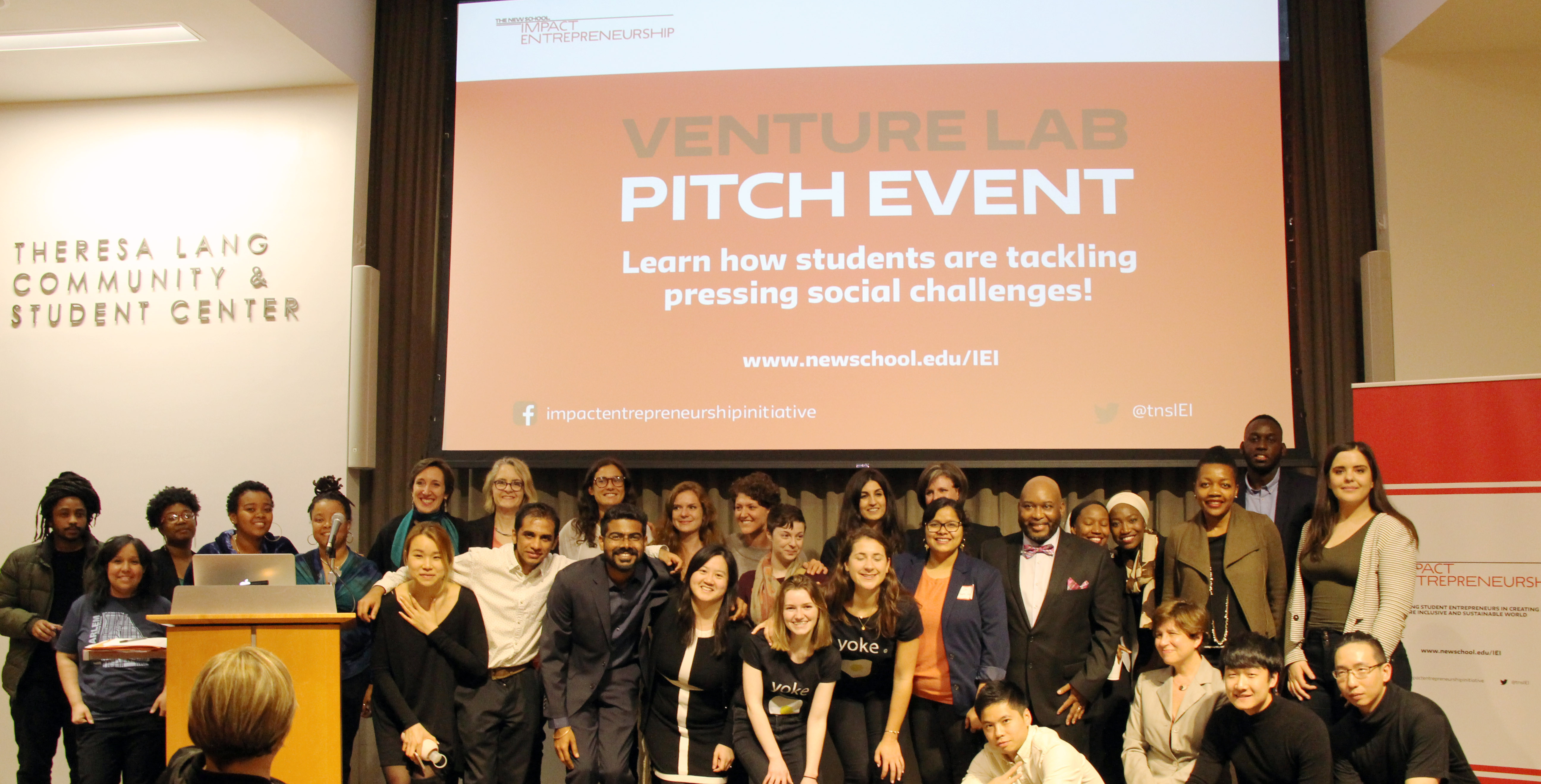 Venture Lab Pitch Event | Impact Entrepreneurship